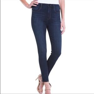 Liverpool High Rise Ankle Jeans 10/30